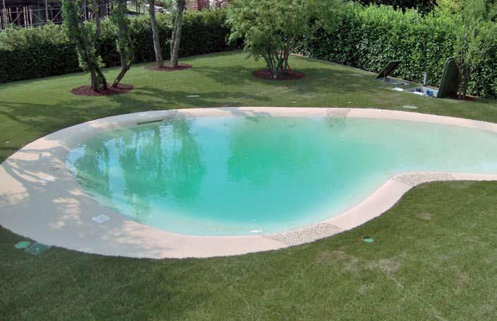 Bamar biological treatment waste water eco pool for Bio design pool