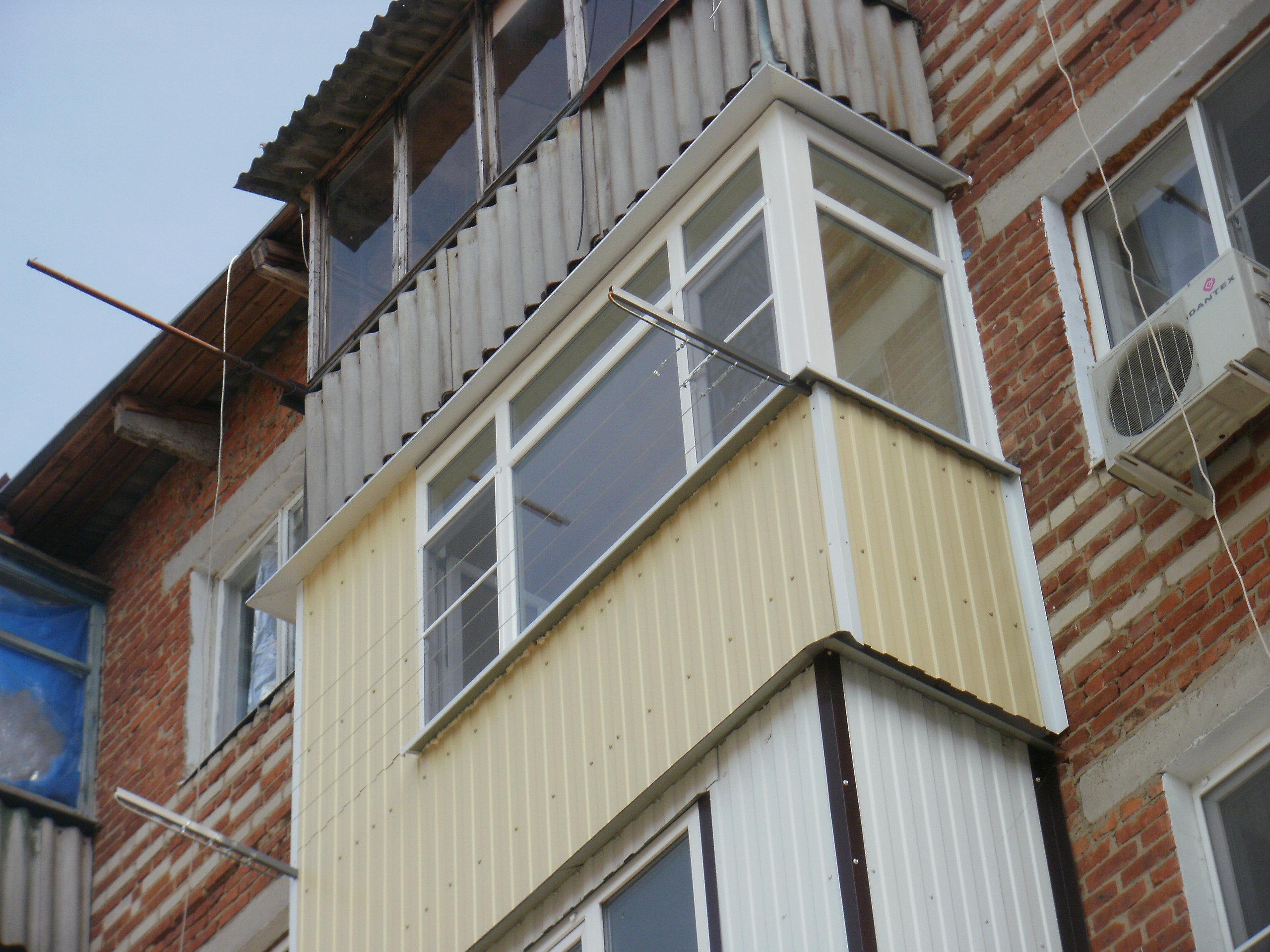 Балконы под ключ в краснодаре в короткие сроки. недорого! об.