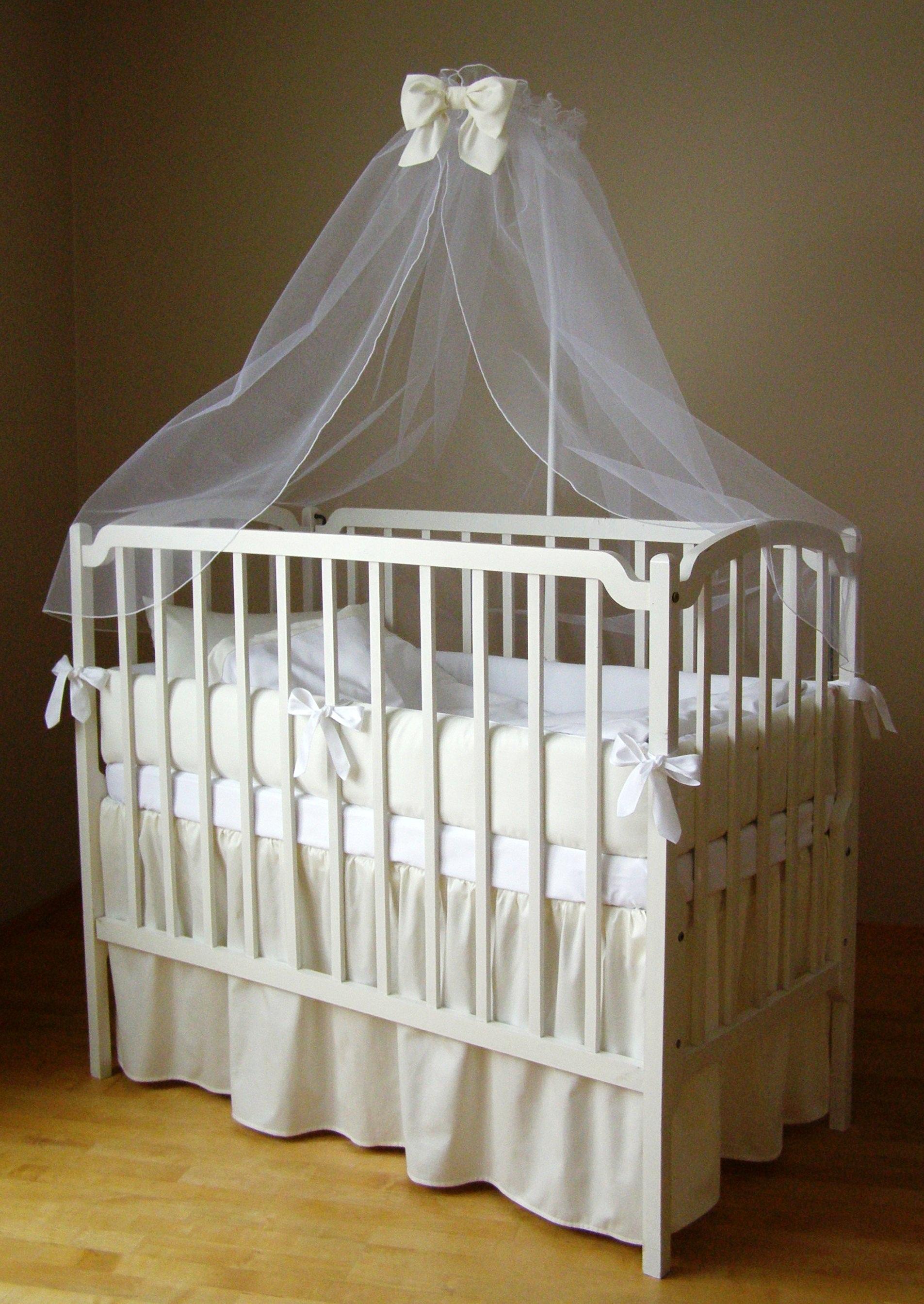 Как сшить балдахин на детскую кроватку: выбор ткани и 27