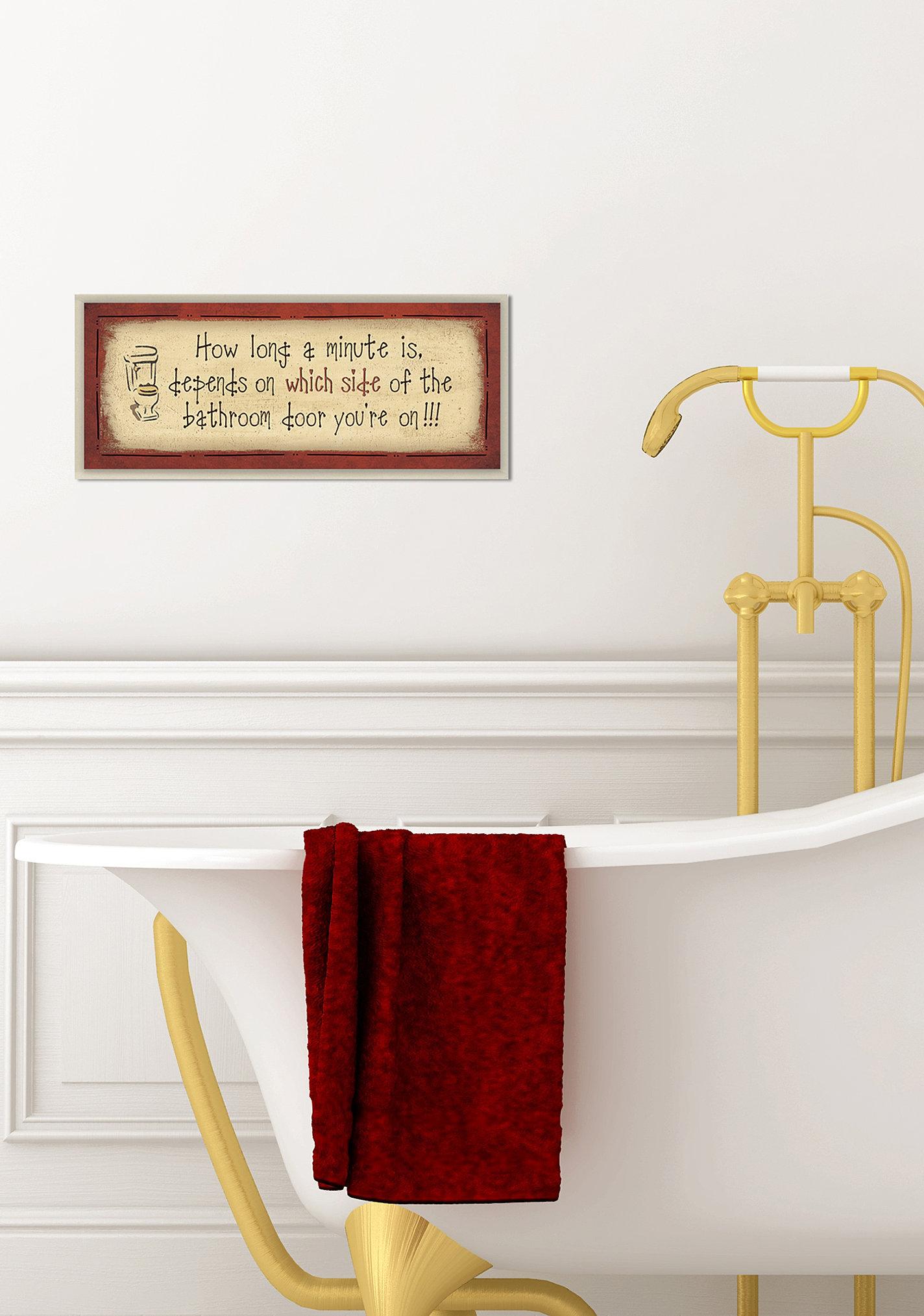 . Stupell Home Decor Collection   Bath