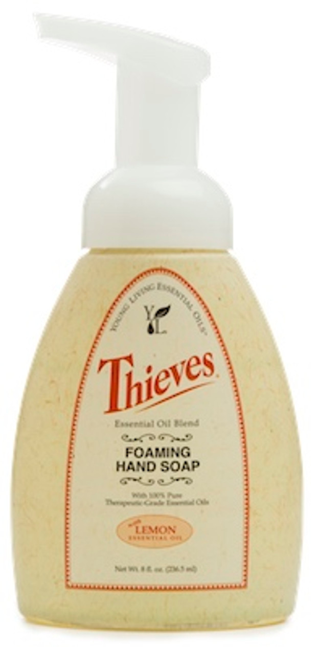 how to make foaming hand soap with thieves household cleaner