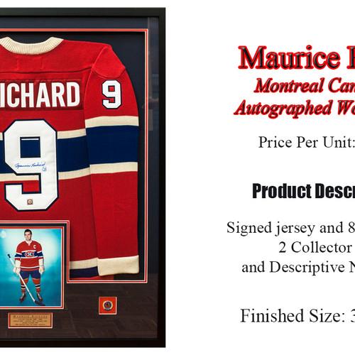 Universal Picture Framing & Sports Memorabilia | Montreal Canadiens