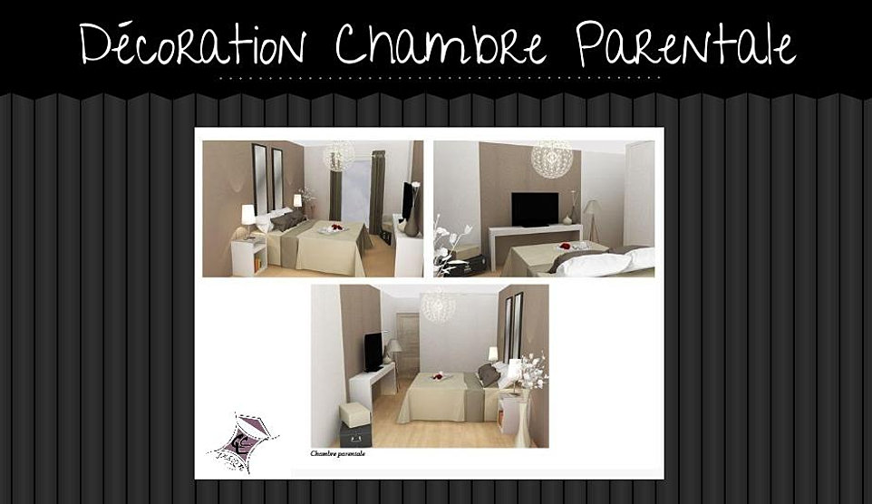 R alisations projets portfolio ccl design for Chambre parentale design
