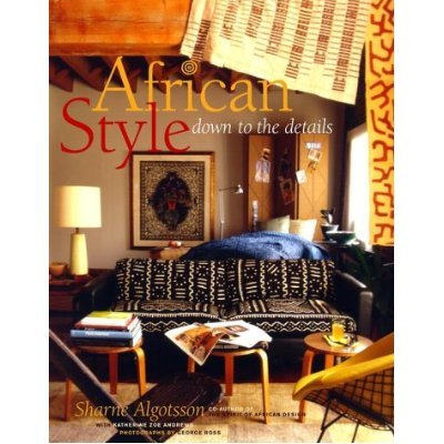 Book review african style down to the details for Interior design and decoration textbook