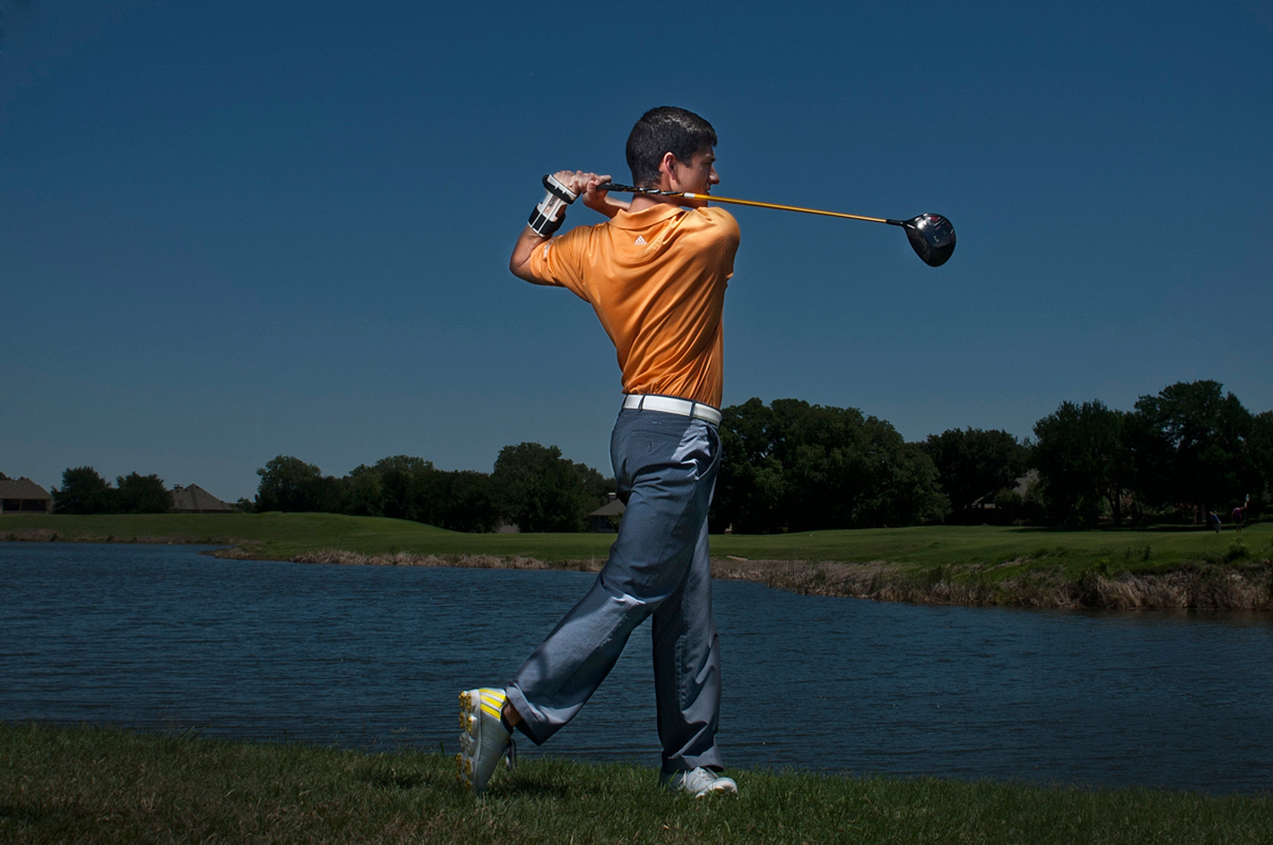 Golf Training Aid Swing Top