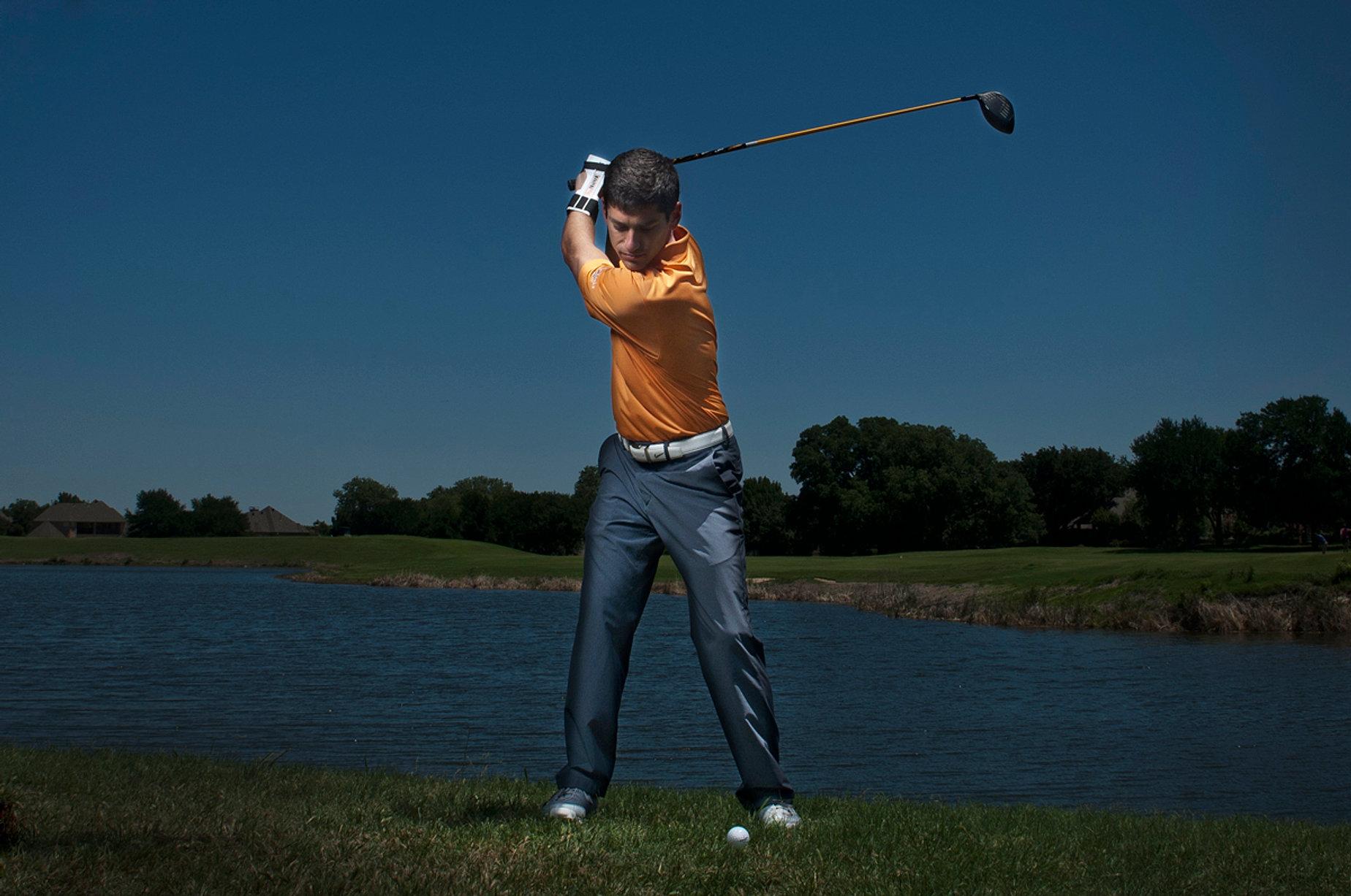 Golf Training Aid Top of Swing