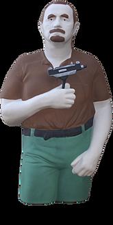 Bud 3D SWAT Target