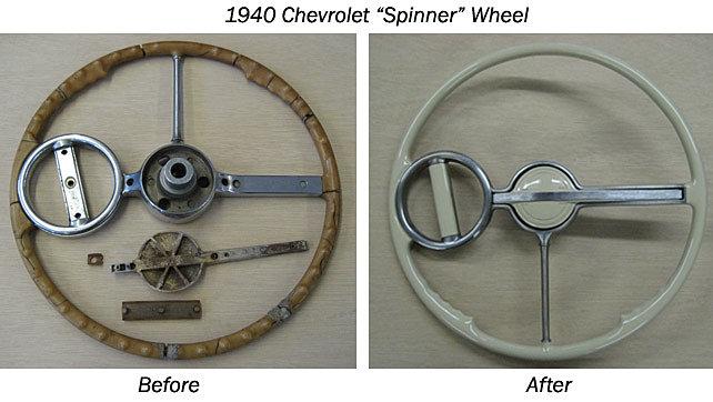 1940 Chevy Truck >> Steering Wheel Bob - Steering Wheel Restoration | 1940 ...