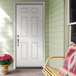 Impact fiberglass Door