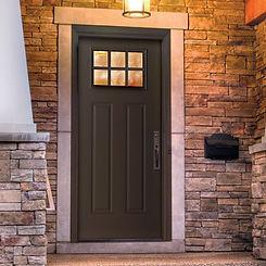 Custom Door with Impact glass