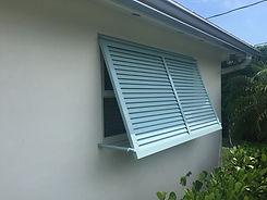 Architecturally attractive shutter