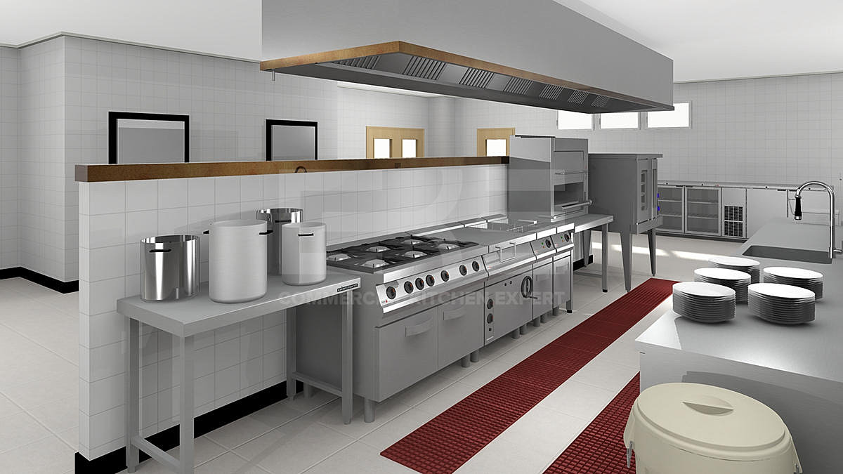 Design A Commercial Kitchen Cke The Expert To Provide Commercial Kitchen Equipment From China
