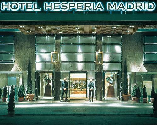 hoteles 5 estrellas madrid: