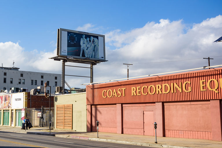 Omni-Optic 2, The Billboard Creative, Santa Monica Blvd.