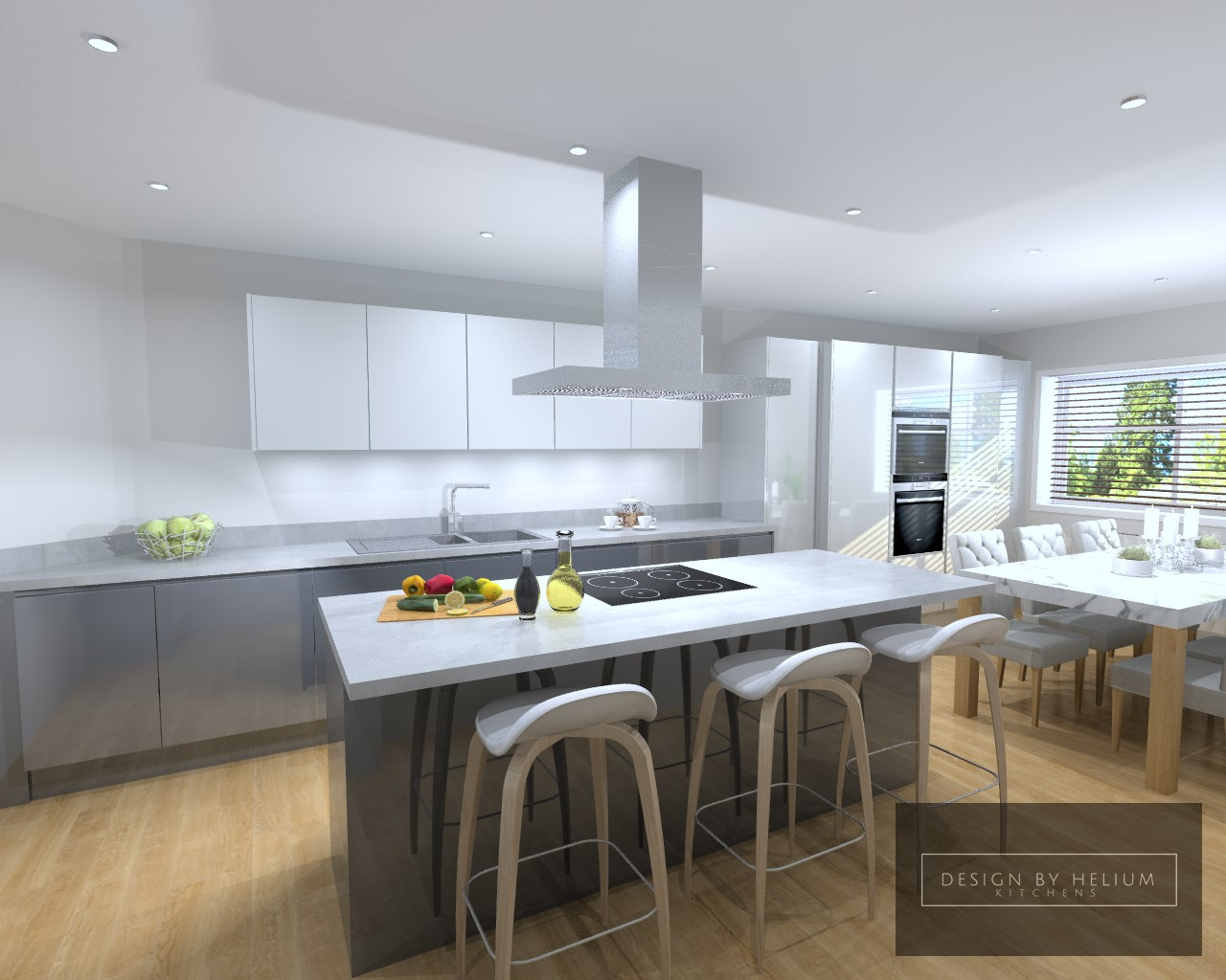 Design by Helium Kitchens | Kitchen Design Service | Manchester on ...