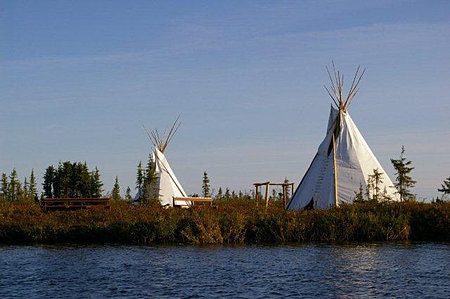Little Lake traditional teepees