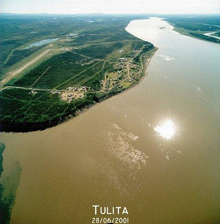 Aerial view of Tulit'a