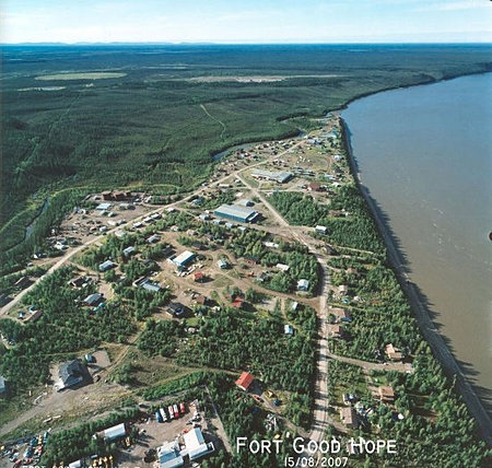 Aerial View of Fort Good HOpe