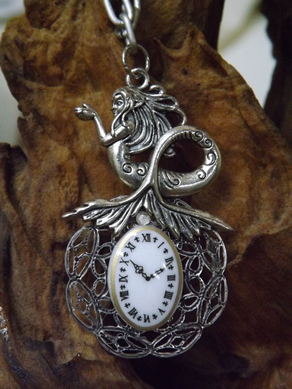 Black Cat Designs Recycled Jewelry Art Steampunk Victorian Vintage Tattoo Gothic Unique Punk