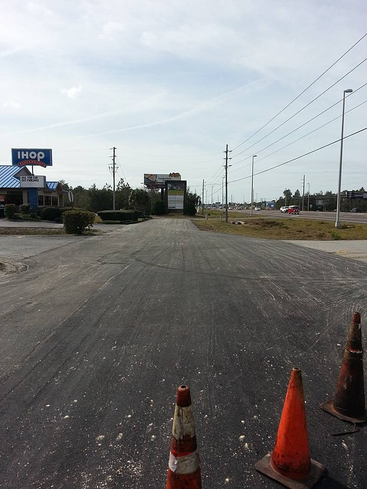 Home | Medders Paving | Newly paved roadway- Spring Hill
