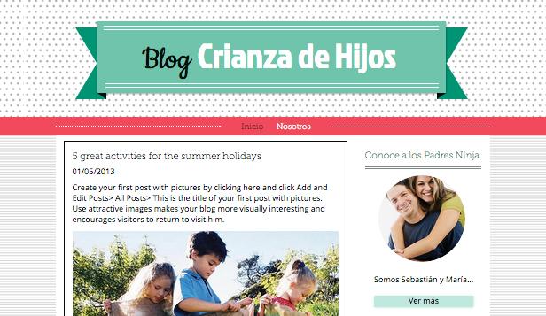 Blog de crianza de hijos