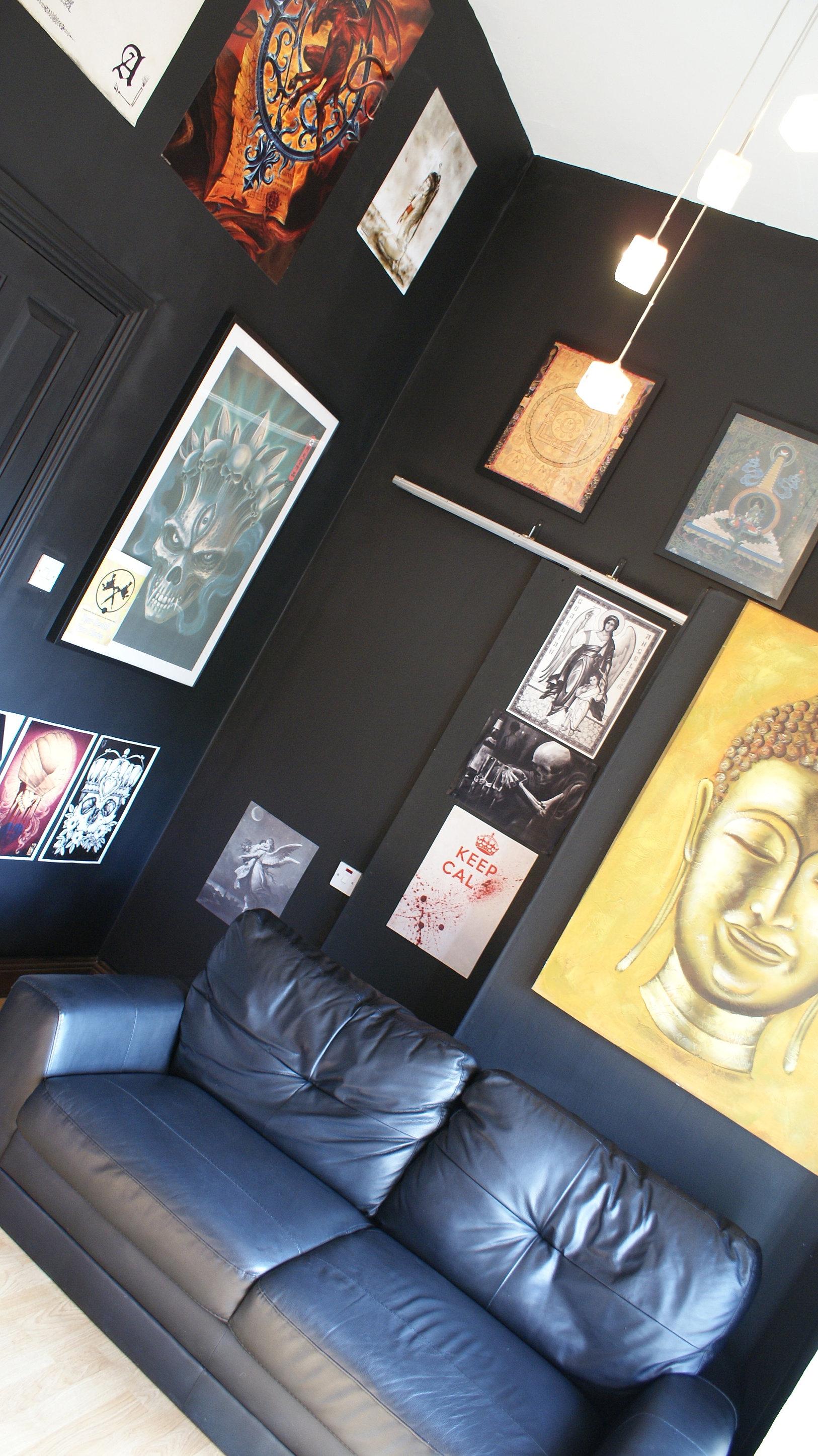 Guns n 39 tattoos custom tattoo studio dublin for Best tattoo shop dublin