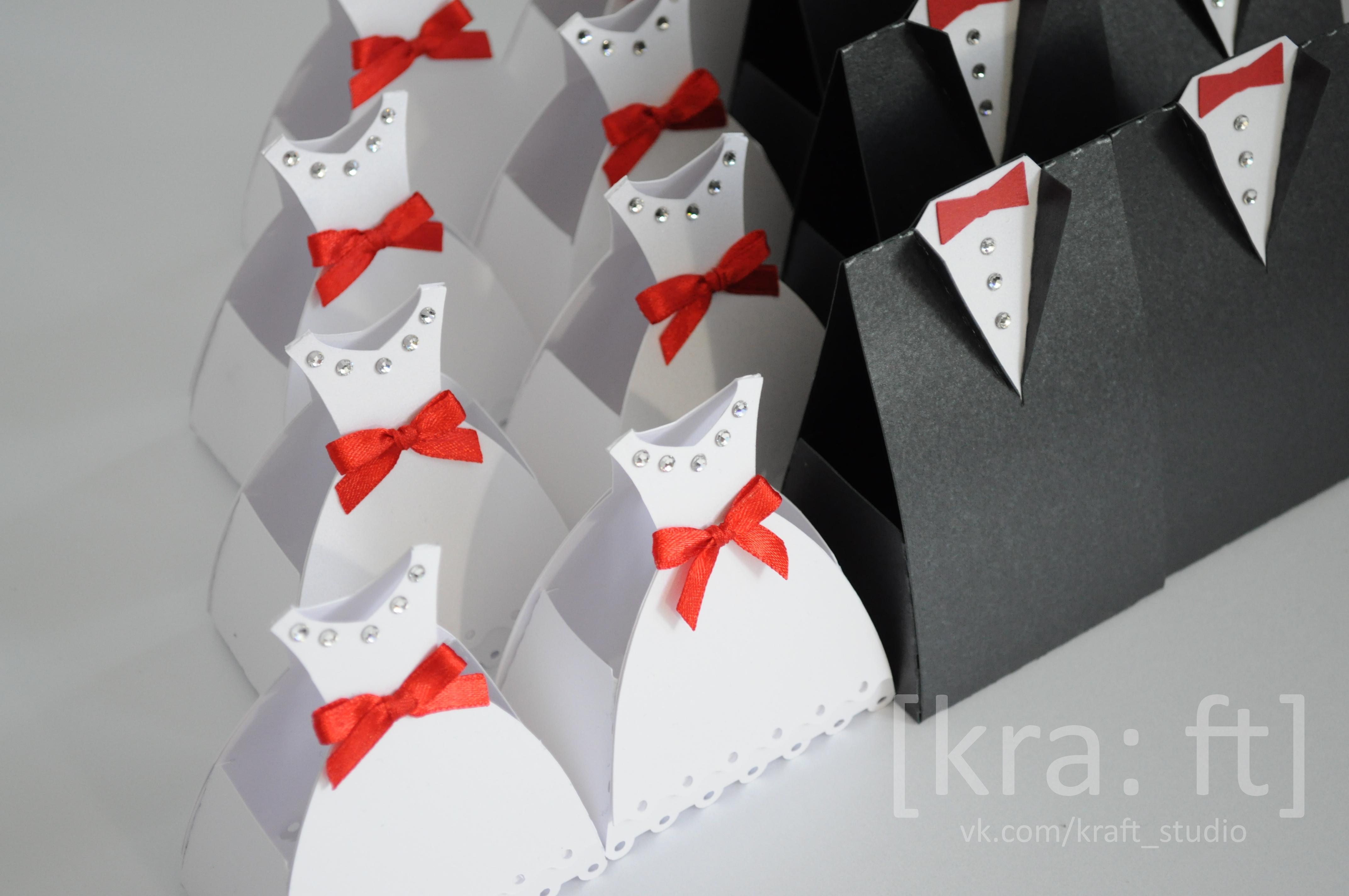 Бонбоньерки свадебные своими руками