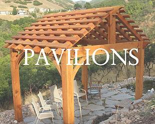 new backyard pavilion