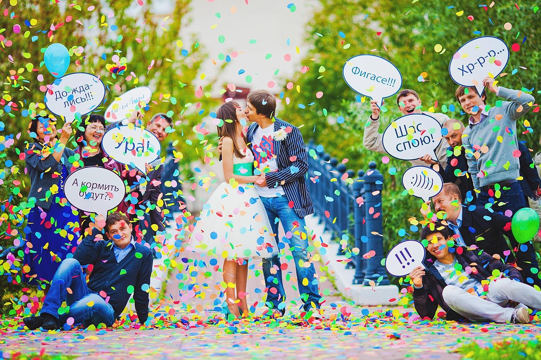 Реквизиты на свадебную фотосессию своими руками