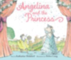 Angelina and the Princess book