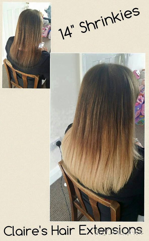 Claires Hair Extensions Micro Rings Tape Extensions Weave