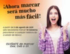 Banner para la nueva marcación de 10 números para llamas a teléfonos fijos o celular de México.