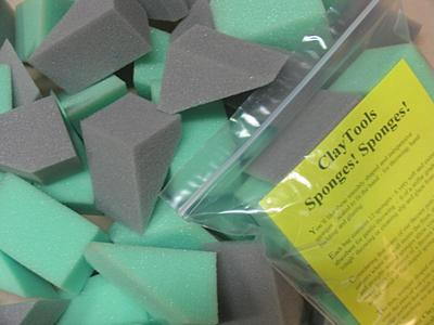 #C103101 – ClayTools Sponges