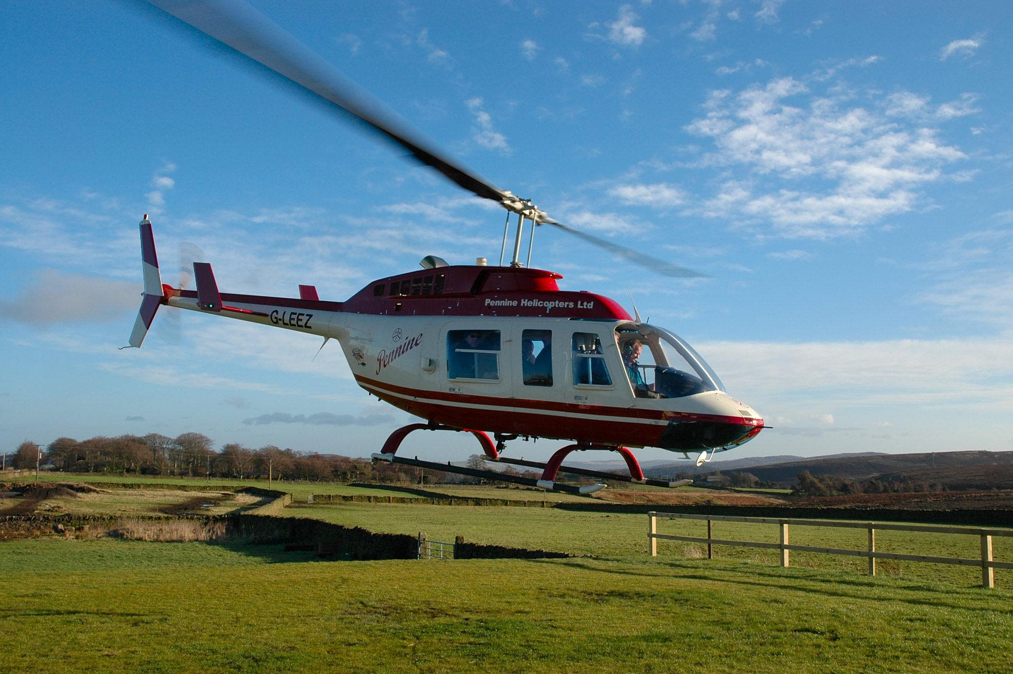 Helicopter Charter Helicopter Hire Services Pennine
