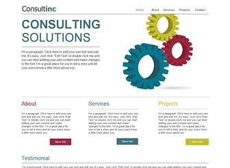 Konsultanci Biznesowi Template - Nowoczesny i profesjonalny szablon, który pozwoli ci zaprezentować się w sieci. Przejrzysty rozkład i wyraziste czcionki czynią go idealnym do zaprezentowania twoich usług, projektów i branżowych kwalifikacji. Stwórz stronę, która pomoże twojej firmie consultingowej zaistnieć.