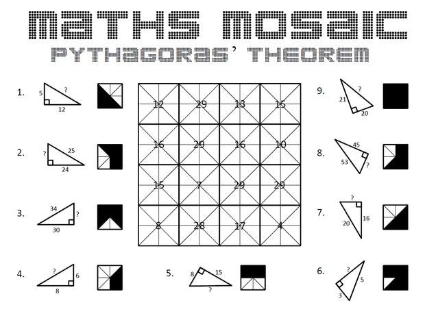 Pythagoras Theorem – Maths Pythagoras Theorem Worksheet