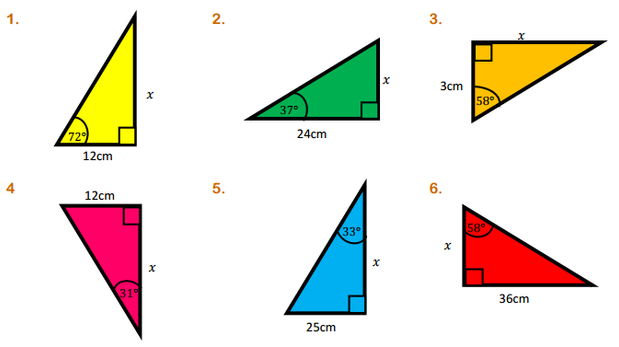 Trigonometry in right-angled triangles | Miss Brookes Maths