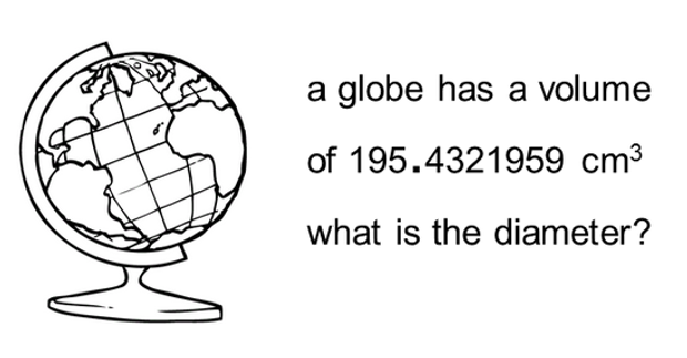 Volume – Surface Area of a Sphere Worksheet