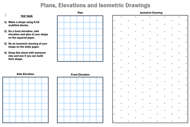 Gallery For u0026gt; Isometric Drawing Worksheet