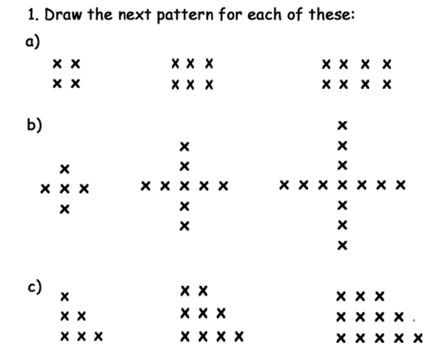 Sequences – Number Sequences Worksheet