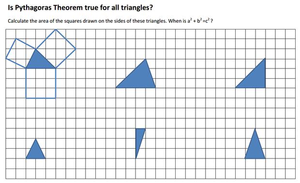 Pythagoras Theorem – Pythagorean Theorem Puzzle Worksheet