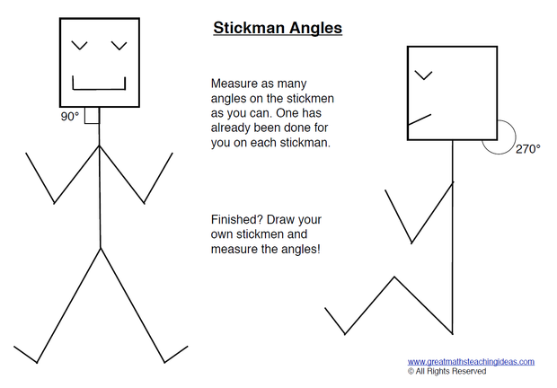 Naming Estimating Measuring and Drawing Angles – Angle Measurement Worksheets
