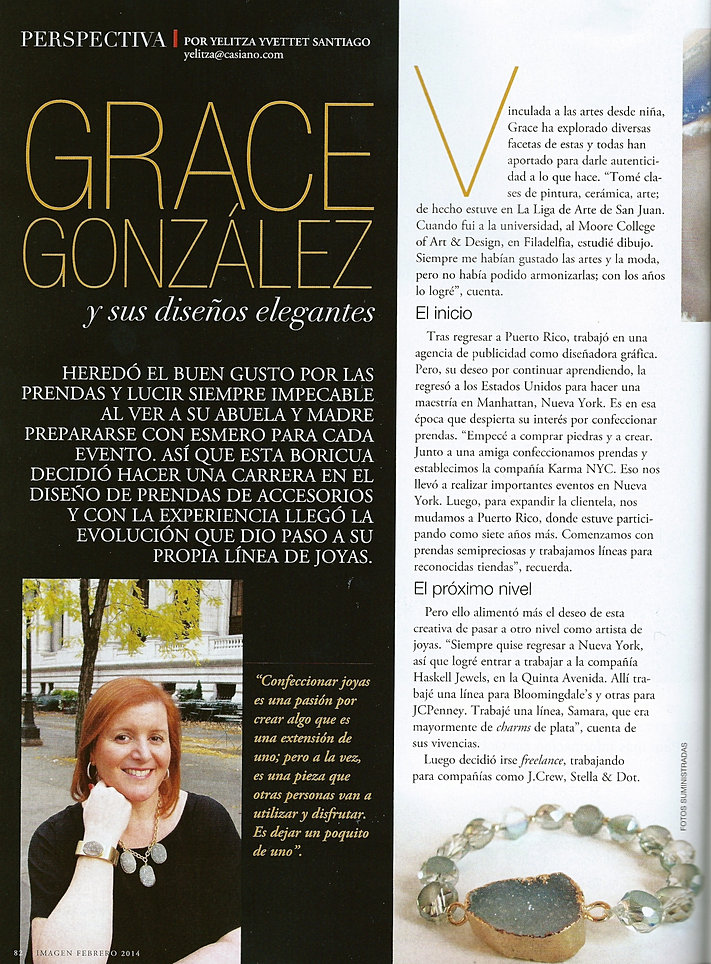 Grace Gonzalez Grace Gonzalez New York
