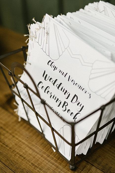 Custom Wedding Coloring Books