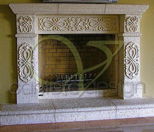 Los mejores trabajos y dise os de cantera chimenea 37 jpg - Diseno de chimeneas para casas ...