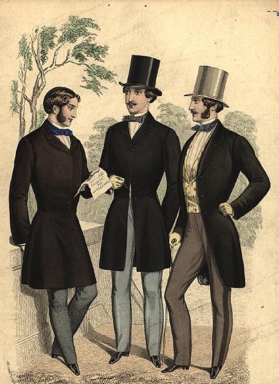 Мода платья 19 века