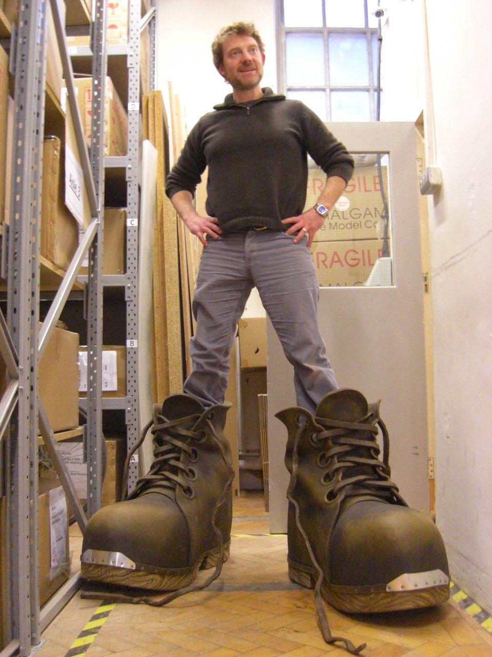 Big boots asiatiques
