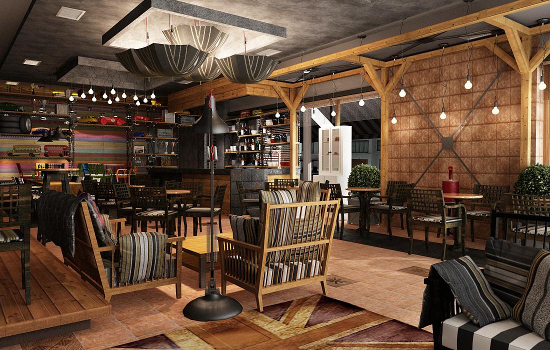 Interior Design Studio - Papos | The mini cooper bar