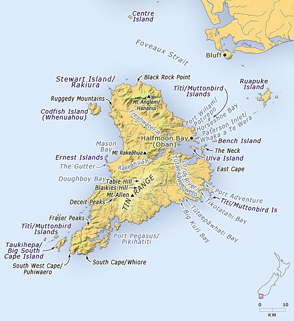 Maps and Distances Holiday Planning New Zealand Three Islands NZ