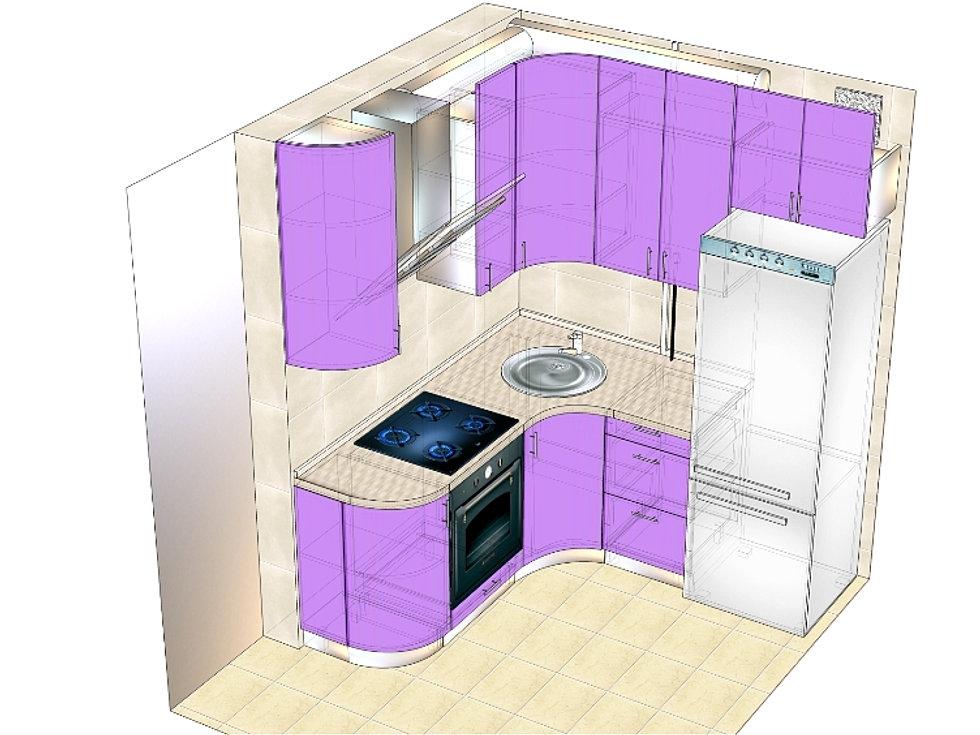 Как самому сделать дизайн проект кухни